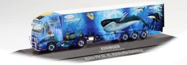 "Herpa 122122  Volvo FH Gl. XL Kühlkoffer-Sattelzug ""Eisinger Kühltransporte"""