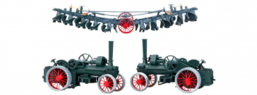 Märklin 18970  Dampfpflug-Set