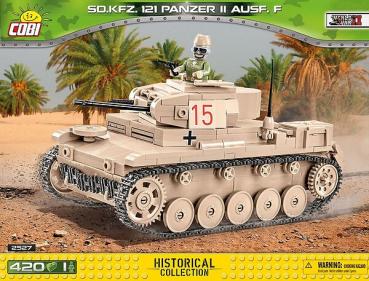 Cobi 2527  Leichtpanzer SD.KFZ 121 Panzer II Ausf. F