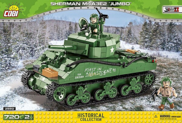 Cobi 2550  Sherman M4A3E2 Jumbo