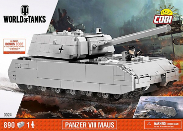Cobi 3024 Schwerer Panzer VIII Maus