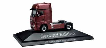 "Herpa 110471 MB Actros Gigaspace Solo-Zugmaschine ""Second Edition"""