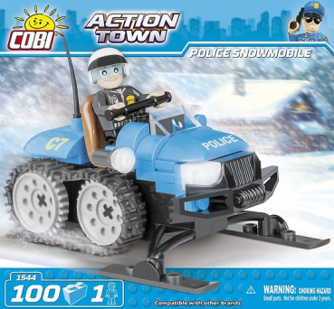 Cobi 1544 Police Snowmobile