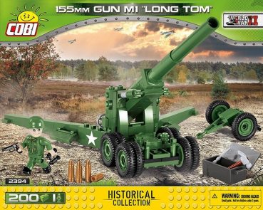 Cobi 2394  155mm Gun M1 Long Tom