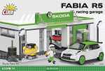 Cobi 24580 Skoda Fabia R5 Racing Garage
