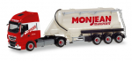 "Herpa 310451  Iveco Stralis XP Eutersilo-Sattelzug ""Monjean"""